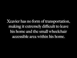 Xzavier Davis-Bilbo is an advocate against distracted driving with an emphasis on texting