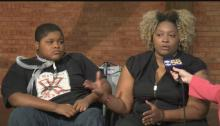 Xzavier Davis-Bilbo and mom Valetta Bradford are advocates against distracted driving with an emphasis on texting.