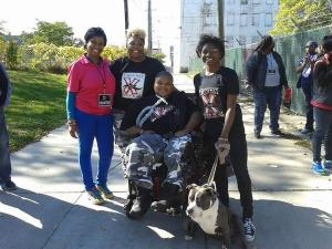 Xzavier Davis-Bilbo with family, Ambassadors against Distracted Driving